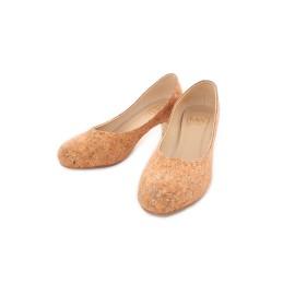 Cork Heels (Silver)