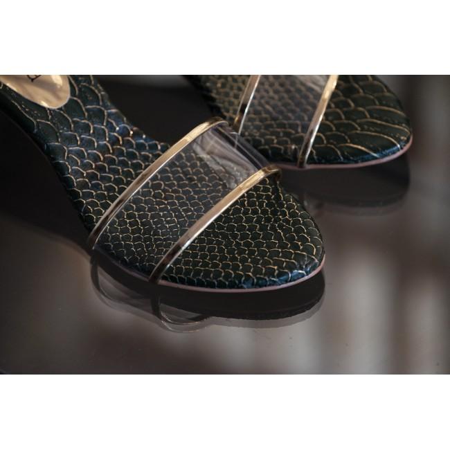 The Boa Heel (Green)