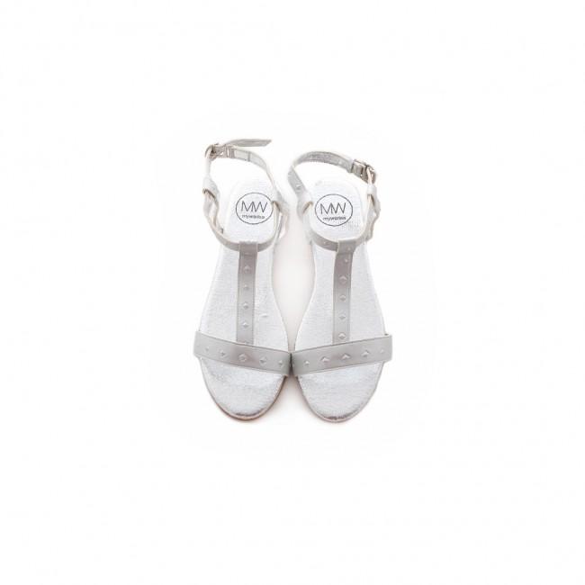 Ahhotep Sandle (Silver)