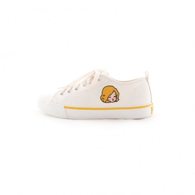 mywarisa x brandnew Sneaker (White Yellow)
